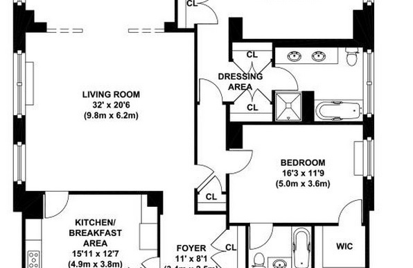 FLOOR PLAN - 610 PARK AVE. - #8C - 6-2-2015 (5)